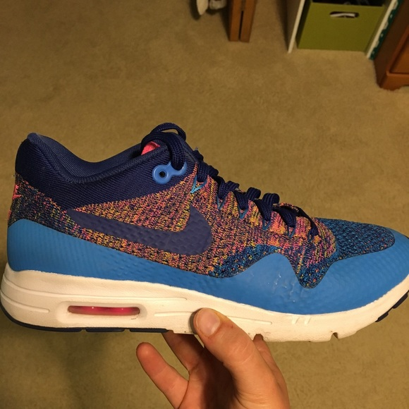 Women's Nike Air Max 1 Ultra Flyknit tennis shoes